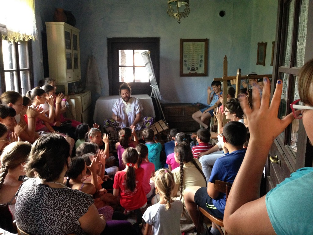 English Camp, Kászonaltíz (RO), 2015 - The Gingerbread Man